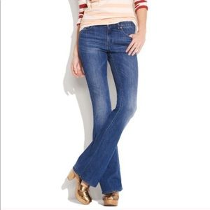 Madewell Flea Market Flare Jeans High Rise Denim